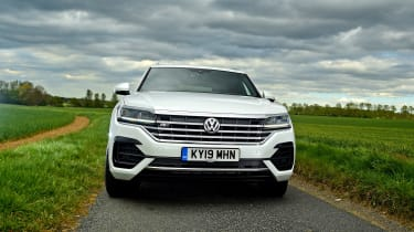 Volkswagen Touareg long termer - first report full front