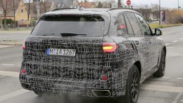 BMW X5 2018 spy rear