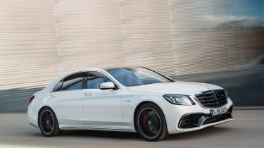 Mercedes-AMG S 63 - front action