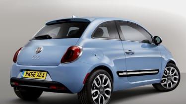 Fiat 500 2016 rear