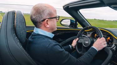 Bentley Bacalar - driving