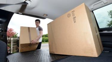 Subaru Outback - loading