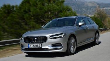 Volvo V90 - front