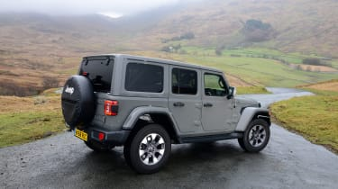 Jeep Wrangler - rear static