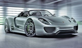 Porsche 918 Spyder front three-quarters