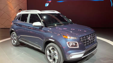 Hyundai Venue - New York front