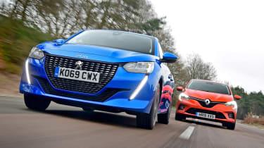 Peugeot 208 vs Renault Clio - header