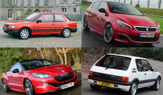Top 10 Peugeot Sport cars - header