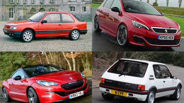 Top 10 Peugeot Sport cars - header