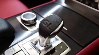 Mercedes SL 400 - transmission