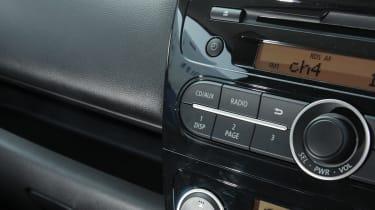 Mitsubishi Mirage 1.2 3 centre console