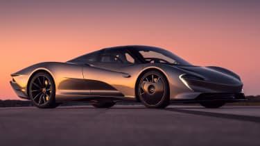 McLaren Speedtail - runway testing - front 3/4 static