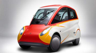 Shell Gordon Murray car front