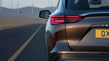 New Infiniti QX50 SUV - rear