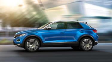 Volkswagen T-ROC - side