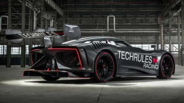 Techrules Ren RS rear quarter