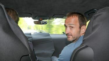 Porsche Taycan - Thomas Geiger in car