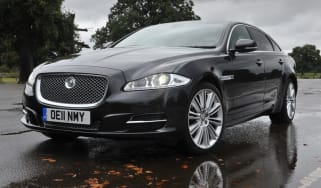 Jaguar XJ L front three-quarters
