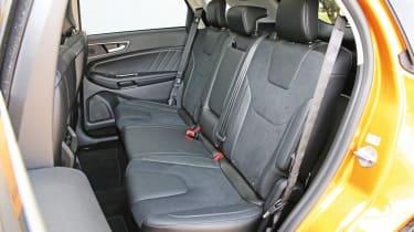 Ford Edge - rear seats