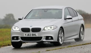 BMW 5 Series saloon 2013 front action