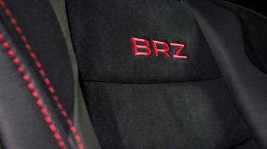 Subaru BRZ - seat detail