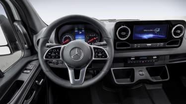 New Mercedes Sprinter - interior