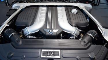 Bentley Continental GT Convertible - engine