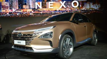 Hyundai NEXO - CES front