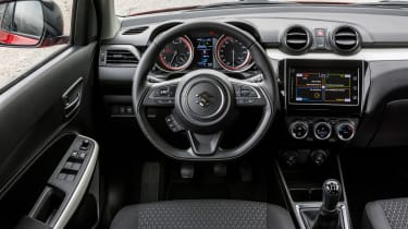 New Suzuki Swift 2017 - Vosper interior
