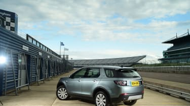 Discovery Sport rear 3/4