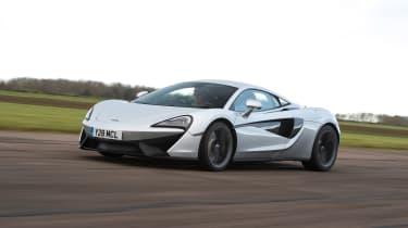 McLaren 540C - front tracking
