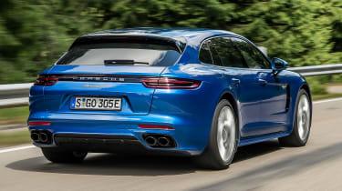 Porsche Panamera Sport Turismo 2017 review - rear