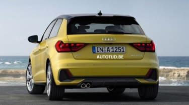 Audi A1 - leak rear static