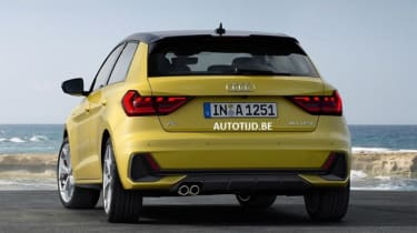 Audi A1 - leak rear static