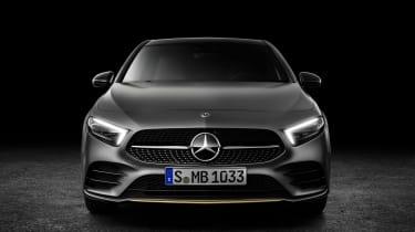 New Mercedes A-Class - studio full front