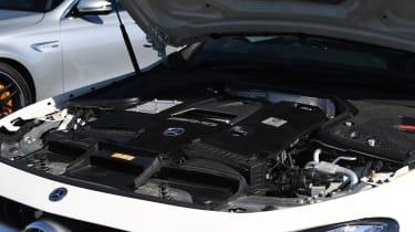 Mercedes-AMG E 63 S - engine