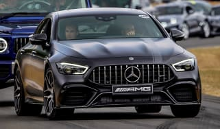 Mercedes-AMG GT four-door front