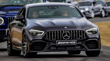 Mercedes-AMG GT four-door front