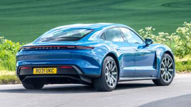 Porsche Taycan RWD - rear cornering