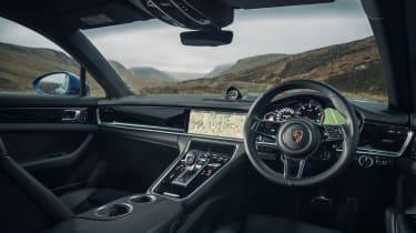 Porsche Panamera 4S diesel - interior