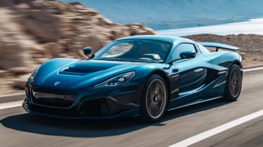 Rimac Nevera - front action
