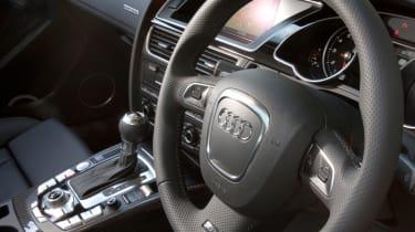 Audi RS5 dash