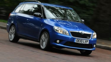 Skoda Fabia vRS Estate (2010-2014) review | Auto Express