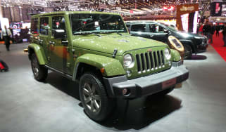 Jeep 75th Anniversary Geneva - Wrangler front three quarter