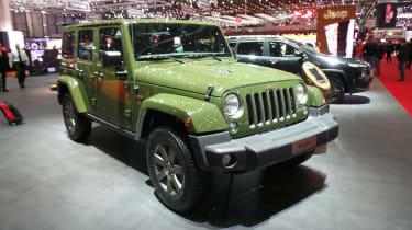 Jeep 75th Anniversary Geneva - Wrangler front three quarter