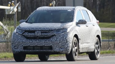New Honda CR-V - spy shots - front