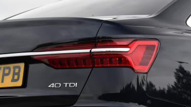Audi A6 - rear badge