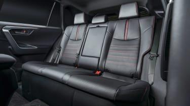 Toyota RAV4 Prime - rear seats