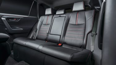 Toyota RAV4 Prime - rear seats