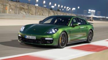 Porsche Panamera GTS - front